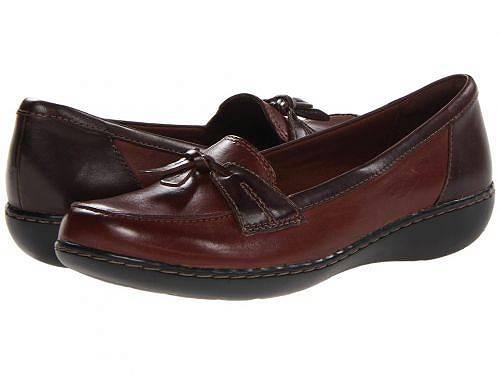 送料無料 クラークス Clarks レディース 女性用 シューズ 靴 ローファー ボートシューズ Ashland Bubble - Brown Multi