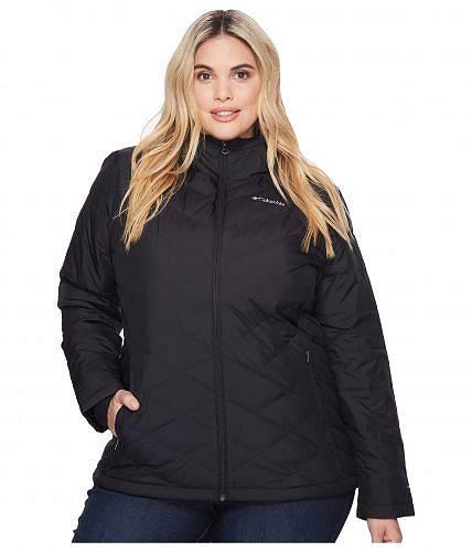 コロンビア Columbia レディース 女性用 ファッション アウター ジャケット コート ダウン・ウインターコート Plus Size Heavenly Hooded Jacket - Black