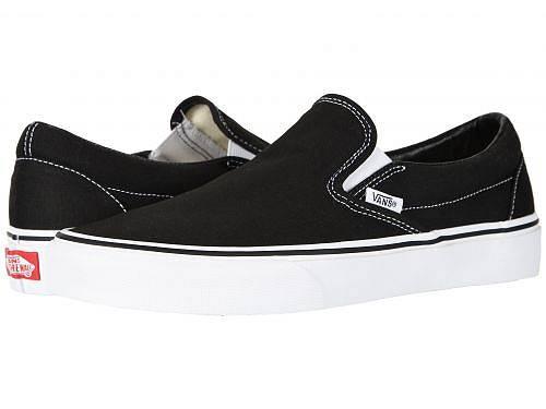 送料無料 バンズ Vans シューズ 靴 スニーカー 運動靴 Classic Slip-On(TM) Core Classics - Black (Canvas)