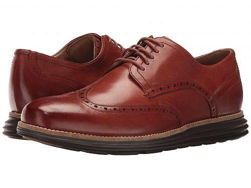 コールハーン Cole Haan メンズ 男性用 シューズ 靴 オックスフォード 紳士靴 通勤靴 Original Grand Shortwing - Woodbury Leather/Java