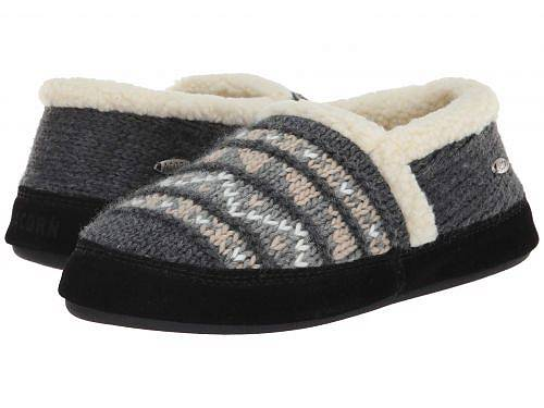 送料無料 エイコーン Acorn レディース 女性用 シューズ 靴 スリッパ Nordic Moc - Nordic Grey