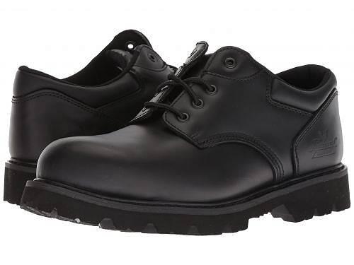送料無料 ソログッド Thorogood メンズ 男性用 シューズ 靴 オックスフォード 紳士靴 通勤靴 Uniform Classic Leather Oxford Steel Safety Toe - Black