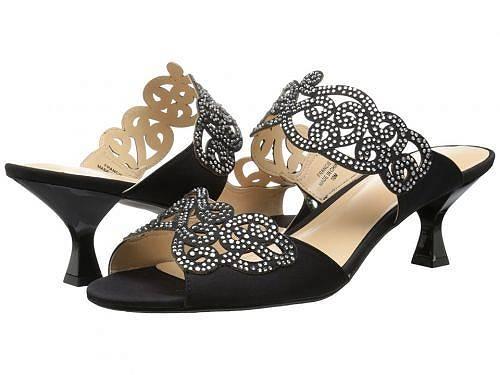 送料無料 ジェイレニー J. Renee レディース 女性用 シューズ 靴 ヒール Francie - Black