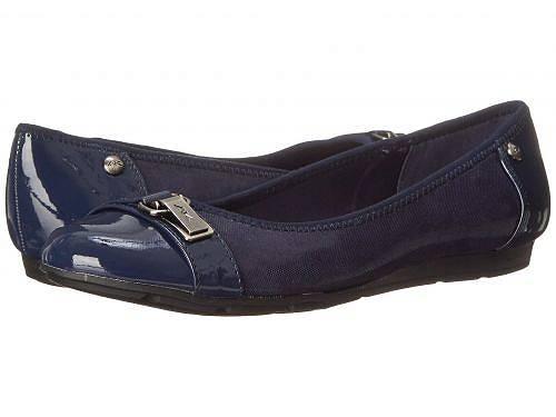 送料無料 アン クライン Anne Klein レディース 女性用 シューズ 靴 フラット Sport Able - Navy