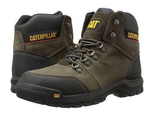 キャタピラー Caterpillar メンズ 男性用 シューズ 靴 ブーツ 安全靴 ワーカーブーツ Outline ST - Dark Gull Grey