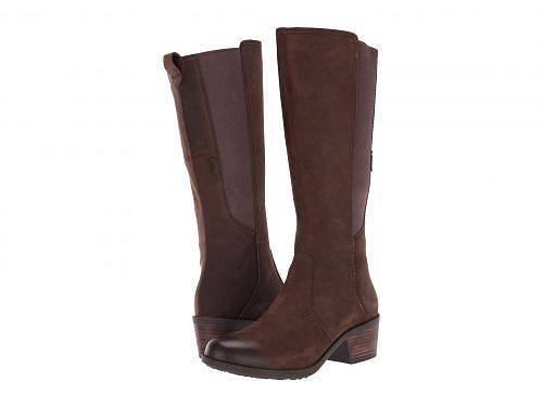 送料無料 テバ Teva レディース 女性用 シューズ 靴 ブーツ ロングブーツ Anaya Tall WP - Chocolate Brown