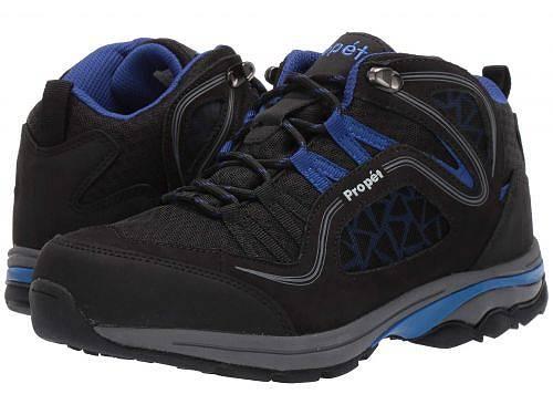 送料無料 プロペット Prop?t レディース 女性用 シューズ 靴 ブーツ ハイキングブーツ Propet Peak - Black/Royal Blue