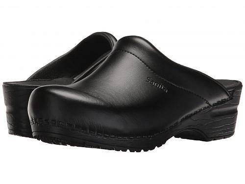 送料無料 サニタ Sanita レディース 女性用 シューズ 靴 クロッグ ミュール Sonja PU - Black