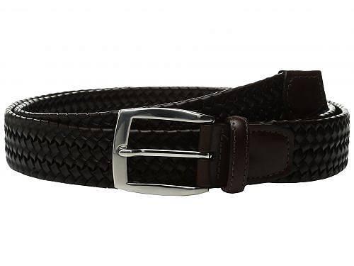 送料無料 トリオレザー Torino Leather Co. メンズ雑貨 小物 ベルト 35mm Italian Woven Stretch Leather - Brown