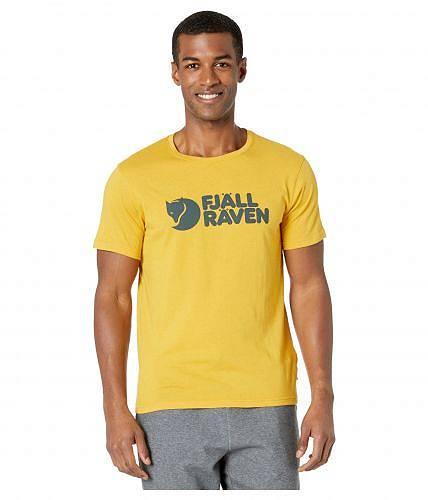 フェールラーベン Fjallraven メンズ 男性用 ファッション Tシャツ Logo T-Shirt - Ochre