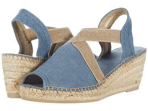 送料無料 トニーポンズ Toni Pons レディース 女性用 シューズ 靴 ヒール Breda-V - Blue