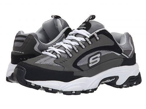スケッチャーズ SKECHERS メンズ 男性用 シューズ 靴 スニーカー 運動靴 Stamina Cutback - Charcoal/Black