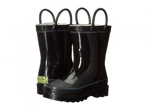 送料無料 ウエスタンチーフ Western Chief Kids キッズ 子供用 キッズシューズ 子供靴 ブーツ レインブーツ Firechief 2 Rainboot (Toddler/Little Kid/Big Kid) - Black