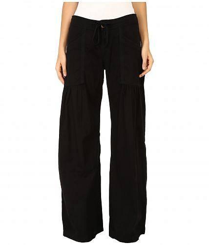 送料無料 エックスシーヴイアイ XCVI レディース 女性用 ファッション パンツ ズボン Willow Wide Leg Stretch Poplin Pants - Black