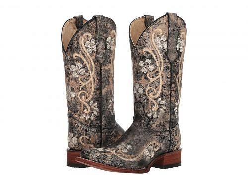 送料無料 コーラルブーツ Corral Boots レディース 女性用 シューズ 靴 ブーツ ウエスタンブーツ L5241 - Black/Multi