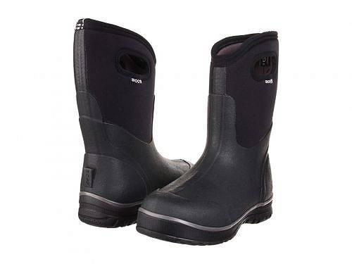 送料無料 ボグス Bogs メンズ 男性用 シューズ 靴 ブーツ スノーブーツ Classic Ultra Mid - Black