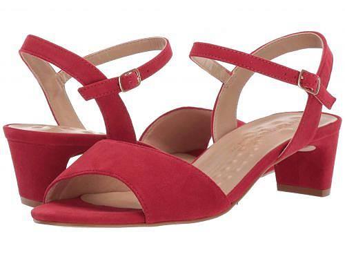 ウォーキングクレイドル Walking Cradles レディース 女性用 シューズ 靴 ヒール Lydia - Red Suede
