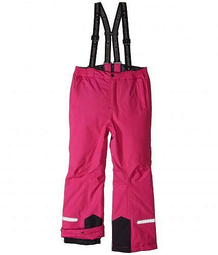 日本未発売 セール品 海外ブランドの靴・スニーカー・バッグ・子供服・鞄・水着など取り扱い多数!プレゼントやお祝いにも 送料無料 レゴ Lego キッズ 子供用 ファッション 子供服 アウター パンツセット スノースーツ Reflective Ski Pants with Adjustable Suspenders (Toddler/Little Kids/Big Kids) - Dark Pink