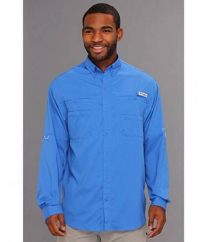 送料無料 コロンビア Columbia メンズ 男性用 ファッション ボタンシャツ Tamiami(TM) II L/S - Vivid Blue