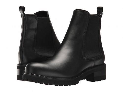 送料無料 ラカナディアン La Canadienne レディース 女性用 シューズ 靴 ブーツ チェルシーブーツ アンクル Conner - Black Leather