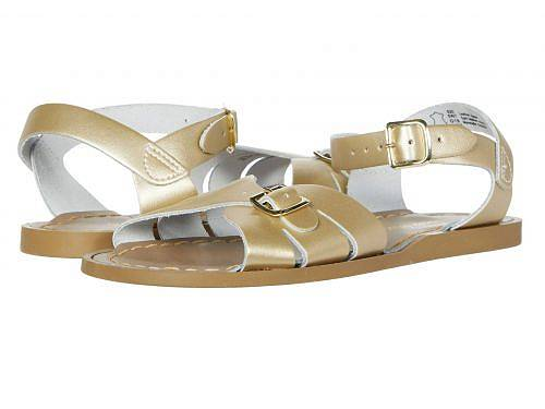 Salt Water Sandal by Hoy Shoes 女の子用 キッズシューズ 子供靴 サンダル Classic (Big Kid/Adult) - Gold