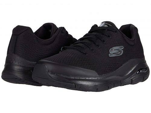 スケッチャーズ SKECHERS メンズ 男性用 シューズ 靴 スニーカー 運動靴 Arch Fit - Black/Black