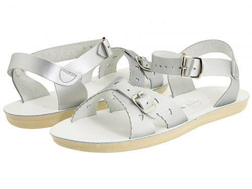 Salt Water Sandal by Hoy Shoes 女の子用 キッズシューズ 子供靴 サンダル Sun-San - Sweetheart (Toddler/Little Kid) - Silver