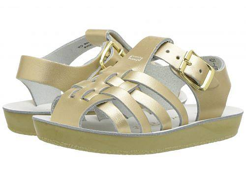 Salt Water Sandal by Hoy Shoes 女の子用 キッズシューズ 子供靴 サンダル Sun-San - Sailors (Infant/Toddler) - Gold