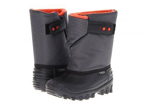 ツンドラ Tundra Boots Kids 男の子用 キッズシューズ 子供靴 ブーツ スノーブーツ Teddy 4 (Toddler/Little Kid) - Black/Charcoal/Orange