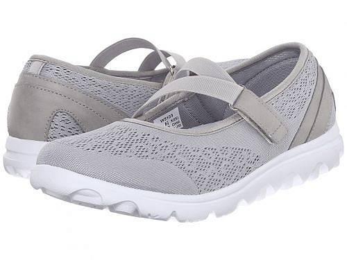 送料無料 プロペット Prop?t レディース 女性用 シューズ 靴 スニーカー 運動靴 TravelActiv Mary Jane - Silver