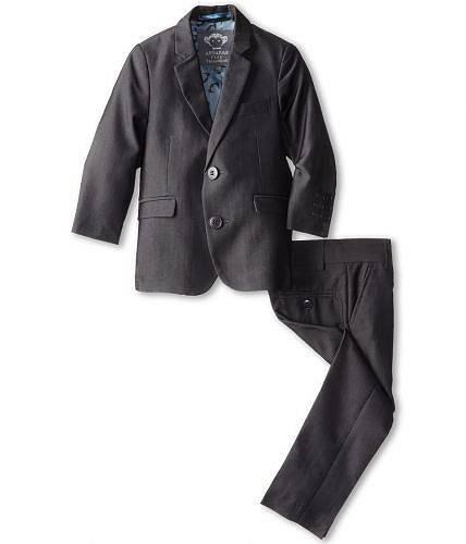 送料無料 アパマンキッズ Appaman Kids 男の子用 ファッション 子供服 スーツ Two Piece Lined Classic Mod Suit (Toddler/Little Kids/Big Kids) - Vintage Black 1