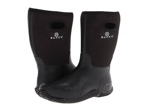 ローパー Roper メンズ 男性用 シューズ 靴 ブーツ レインブーツ Barnyard Boot - Black