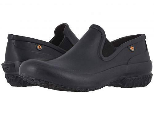 ボグス Bogs レディース 女性用 シューズ 靴 ローファー ボートシューズ Patch Slip-On Solid - Black