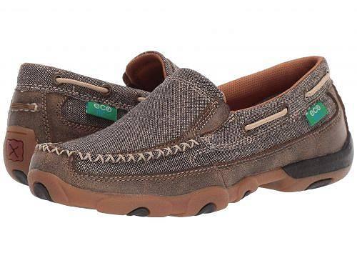 Twisted X レディース 女性用 シューズ 靴 ローファー ボートシューズ WDMS009 - Dust