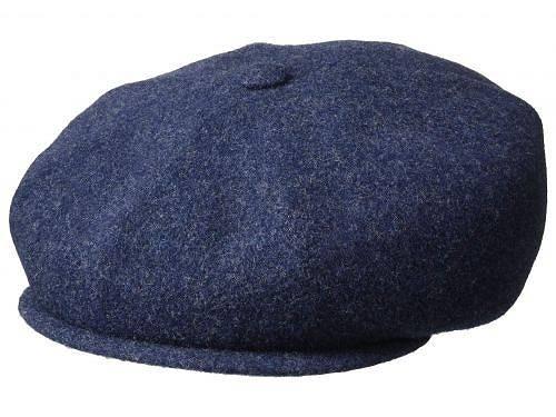 送料無料 カンゴール Kangol メンズ 男性用 帽子 キャップ Wool Hawker - Navy Marl