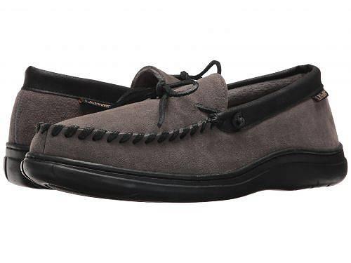 送料無料 LBエヴァンズ L.B. Evans メンズ 男性用 シューズ 靴 スリッパ Atlin - Gray W/Terry Lining