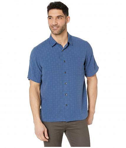 ロイヤルロビンズ Royal Robbins メンズ 男性用 ファッション ボタンシャツ San Juan S/S - Twilight Blue