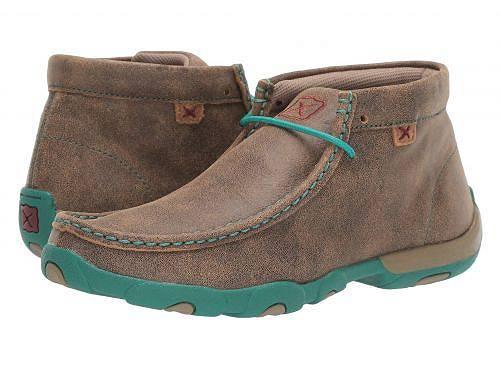 送料無料 Twisted X レディース 女性用 シューズ 靴 ブーツ チャッカブーツ アンクル WDM0020 - Bomber/Turquoise
