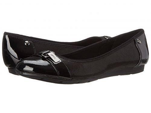 送料無料 アン クライン Anne Klein レディース 女性用 シューズ 靴 フラット Sport Able - Black
