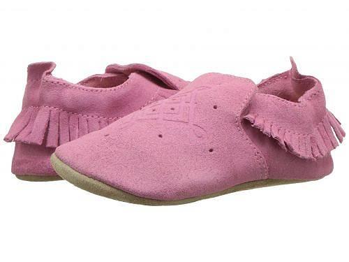 送料無料 Bobux Kids ボブックス 女の子用 ベビー靴 キッズシューズ 子供靴 クリッブ Bobux Kids ボブックス Soft Sole Moccasin (Infant) - Pink 1