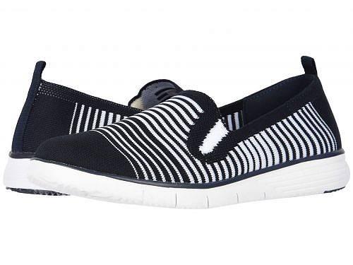 送料無料 プロペット Prop?t レディース 女性用 シューズ 靴 スニーカー 運動靴 Travel Fit Slip-On - Navy/White