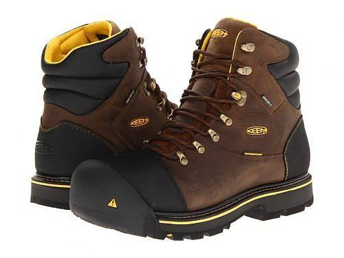送料無料 キーン Keen Utility メンズ 男性用 シューズ 靴 ブーツ ワーカーブーツ Milwaukee WP - Dark Earth