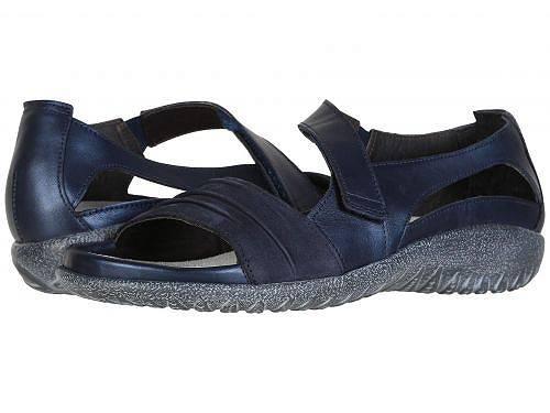 送料無料 ナオト Naot レディース 女性用 シューズ 靴 サンダル Papaki - Polar Sea Leather/Navy Velvet Nubuck