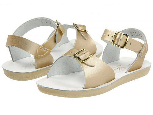Salt Water Sandal by Hoy Shoes 女の子用 キッズシューズ 子供靴 サンダル Sun-San - Surfer (Toddler/Little Kid) - Gold