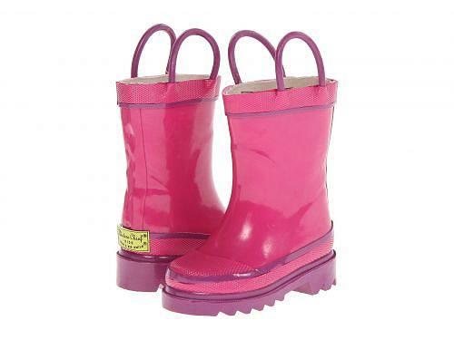 送料無料 ウエスタンチーフ Western Chief Kids キッズ 子供用 キッズシューズ 子供靴 ブーツ レインブーツ Firechief 2 Rainboot (Toddler/Little Kid/Big Kid) - Pink