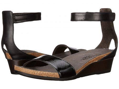 送料無料 ナオト Naot レディース 女性用 シューズ 靴 サンダル Pixie - Black Luster Leather/Black Raven Leather/Black Madras Leather