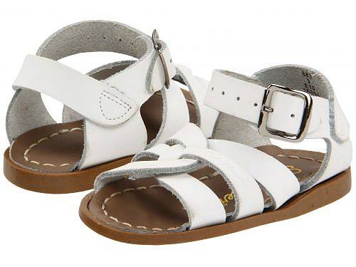 Salt Water Sandal by Hoy Shoes キッズ 子供用 キッズシューズ 子供靴 サンダル The Original Sandal (Infant/Toddler) - White