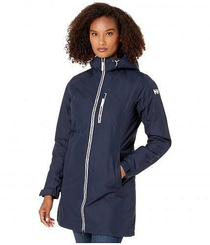 送料無料 ヘリーハンセン Helly Hansen レディース 女性用 ファッション アウター ジャケット コート ダウン・ウインターコート Long Belfast Winter Jacket - Navy
