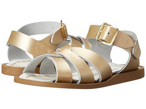 送料無料 Salt Water Sandal by Hoy Shoes 女の子用 キッズシューズ 子供靴 サンダル The Original Sandal (Infant/Toddler) - Gold