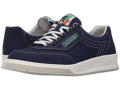 送料無料 メフィスト Mephisto メンズ シューズ 靴 スニーカー 運動靴 男性用 Match - Navy Nubuck